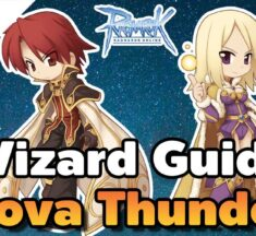 Ragnarok Online : Wizard สาย Frost Nova + Thunder Storm เล่นยังไงต้องดู แนะนำสเตตัส สกิล ของสวมใส่